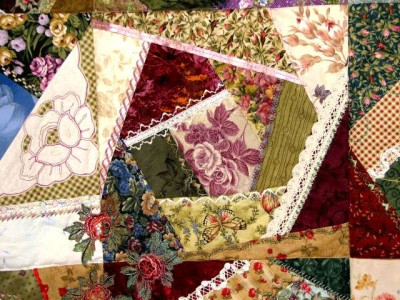 Rose Quilt, close up 2
