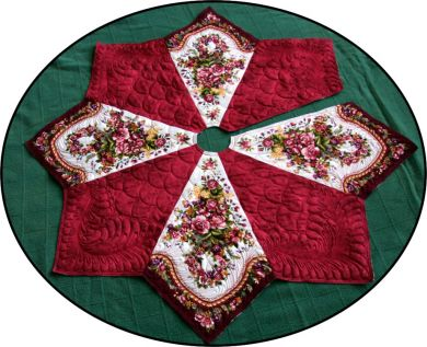 Splendid Holiday Tree - Christmas Tree Skirt